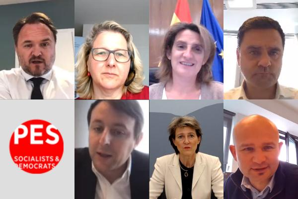 PES environment ministerial videoconference